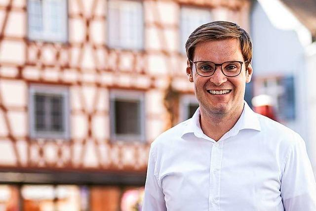 Yannick Bury will für die CDU in den Bundestag