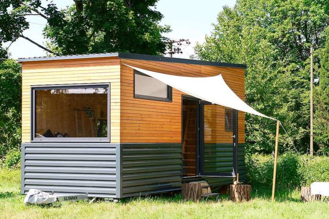 Ein spezielles Lebensgefühl: Wohnen in einem Tiny House.     Foto: Ingo Schneider
