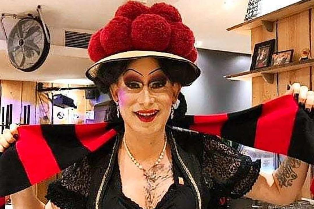 Betty BBQ ist Botschafterin für das St...läum, Stadtführerin und Entertainerin.  | Foto: Privat