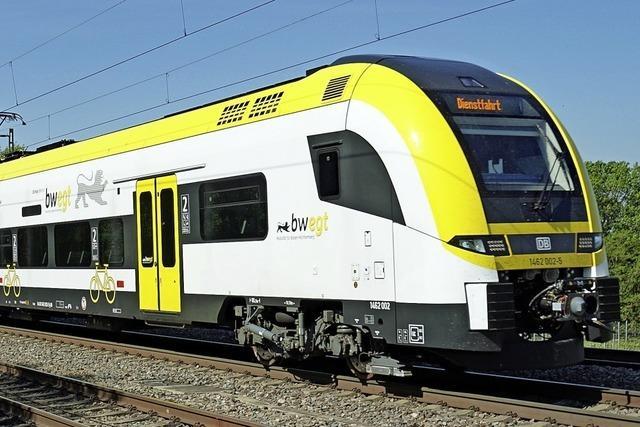 Bahnsteig zu niedrig: Neue Züge konnten nicht in Rheinweiler halten
