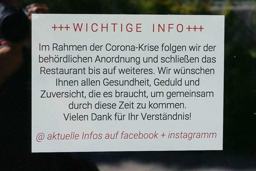 Das Mangusta-Restaurant in Kirchzarten ist nun endgültig Geschichte.  | Foto: Markus Donner