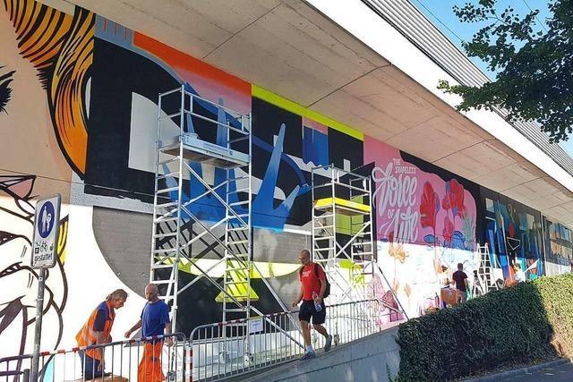 In Basel bekommt die Streetart eine 350 Meter lange Freiluftgalerie