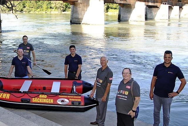 Rettungsboot für die Wehr