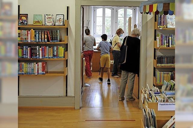Bücherei soll zum Wohnzimmer werden
