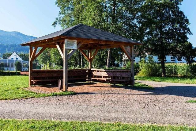 Für die Nutzung des Pavillons in Kollnau gibt es nun Regeln