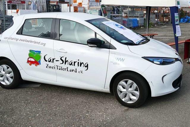 Car Sharing Zweitälerland hat Corona bisher gut überstanden