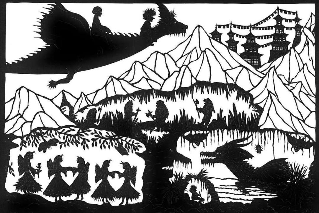 Das Familien-Projekt von Pakt ist inspiriert von der Drachenreiter-Geschichte.  | Foto: privat