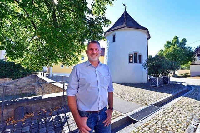 So will Ortsvorsteher Christian Schildecker Freiburg-Munzingens Zukunft mitgestalten