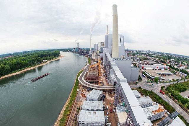 Klimaaktivisten besetzen Teile des Mannheimer Großkraftwerks