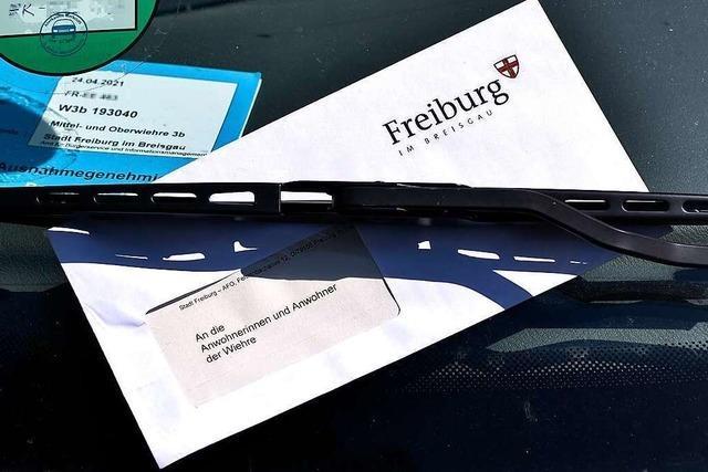 Komplette Wiehre erhält nach Fake-Amtsbrief Schmerzensgeld