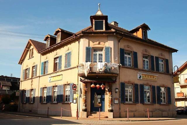 Gasthaus in Gottenheims Ortsmitte wird saniert