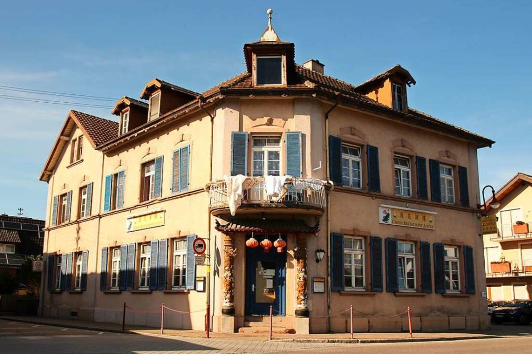 In dem Gebäude des ehemaligen Gasthaus...nheim wird derzeit chinesisch gekocht.  | Foto: Mario Schöneberg