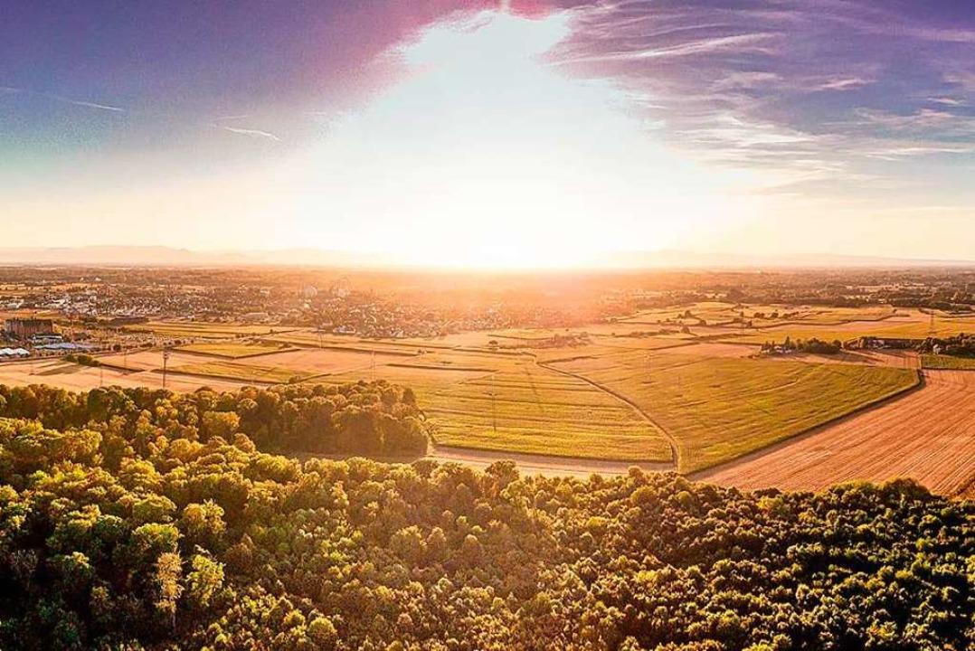 In einer reizvollen Landschaft in der ...ngsheim, Rust und Kappel-Grafenhausen.  | Foto: Martin Bildstein