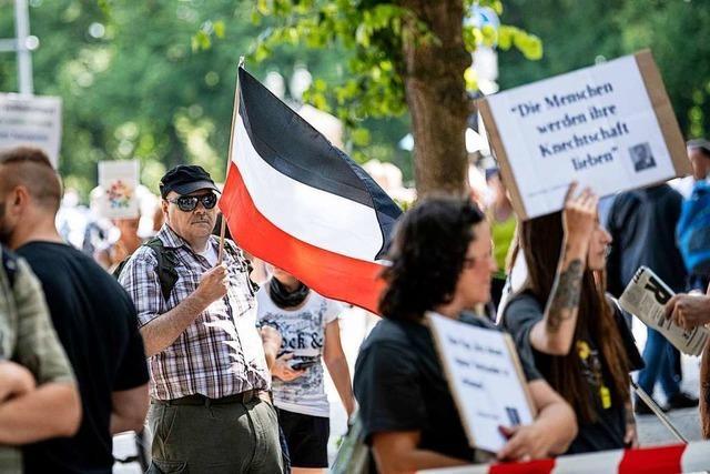 Umfrage: Nur 9 Prozent der Deutschen haben Verständnis für Corona-Demos