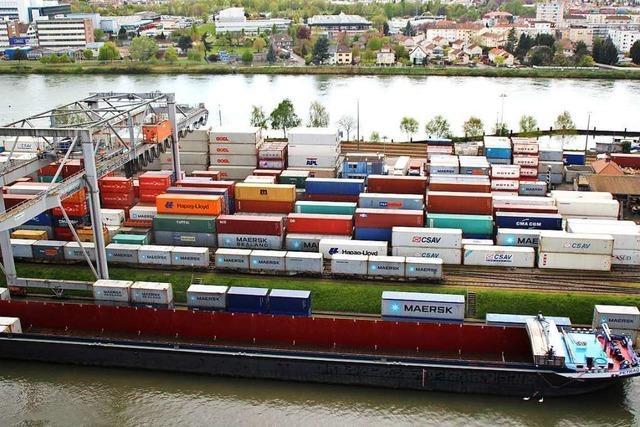 Der Naturschutz bremst das geplante Containerterminal in Basel aus