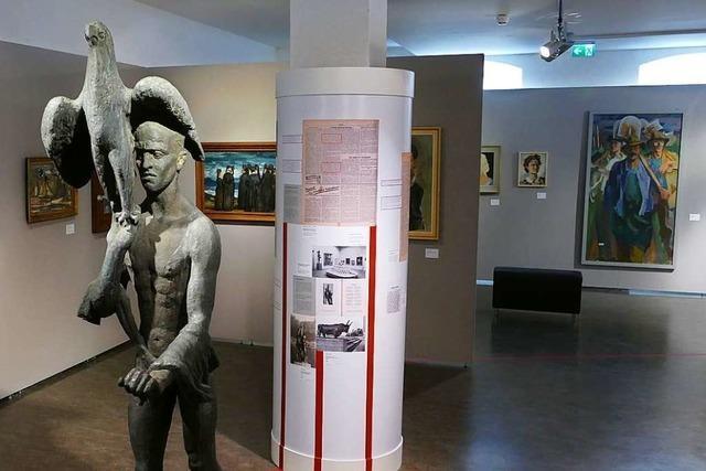 Im Lörracher Dreiländermuseum wird Kunst aus dem Nationalsozialismus gezeigt
