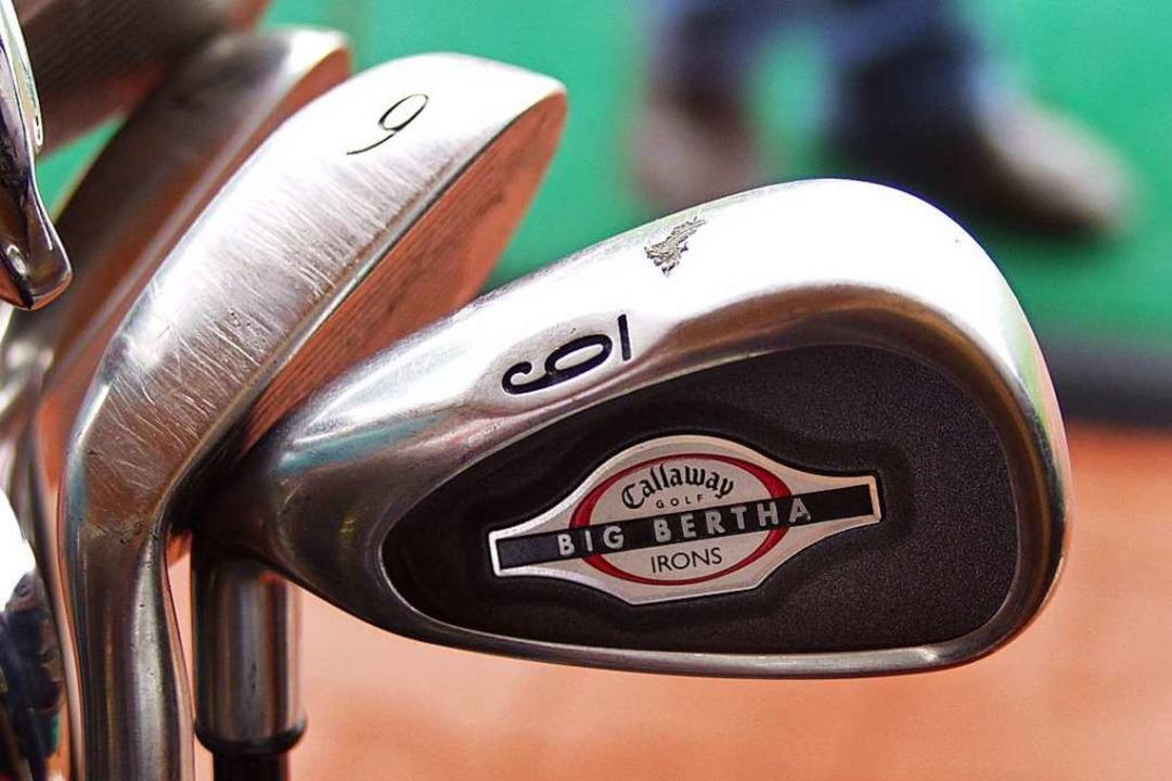 Golfschläger (Symbolfoto).  | Foto: Kathrin Ganter