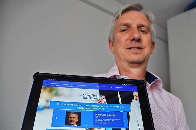 Die Händler in Schopfheim haben nun eine eigene Online-Plattform