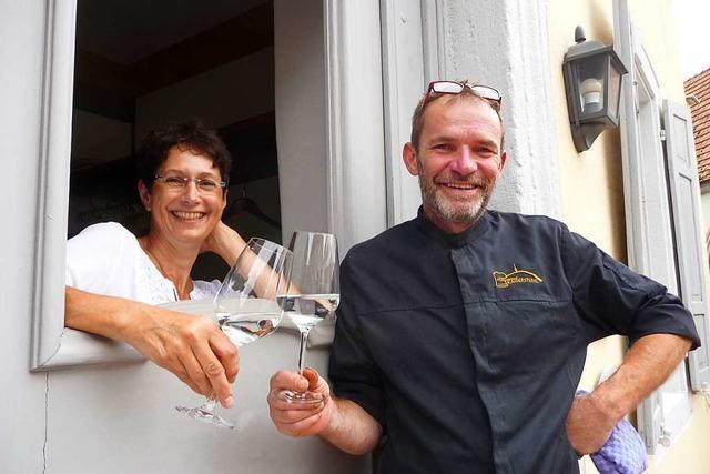 In der Steinbuck-Stube gibt es badische Küche im Herzen von Bischoffingen