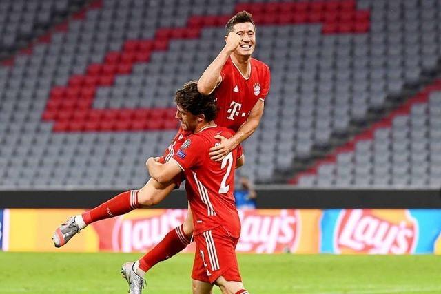 FC Bayern steht im Viertelfinale der Champions League