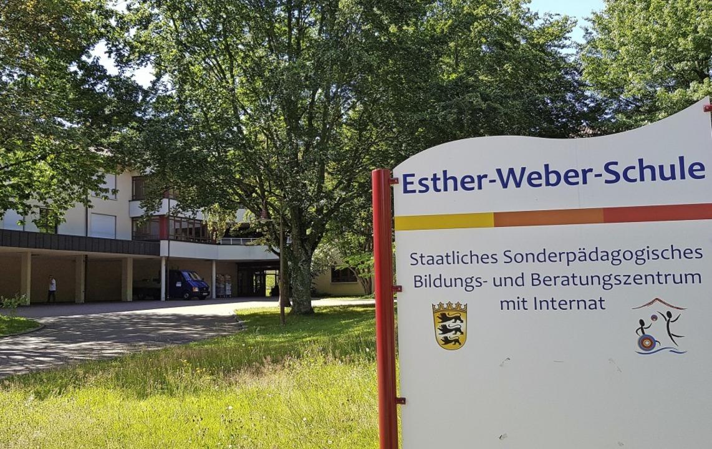 Küche, Schwimmbad und Heizung der Esth...chule werden bis Anfang 2021 erneuert.  | Foto: Gerhard Walser