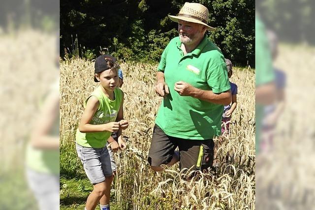 Zu Besuch beim Bio-Bauern Stoll