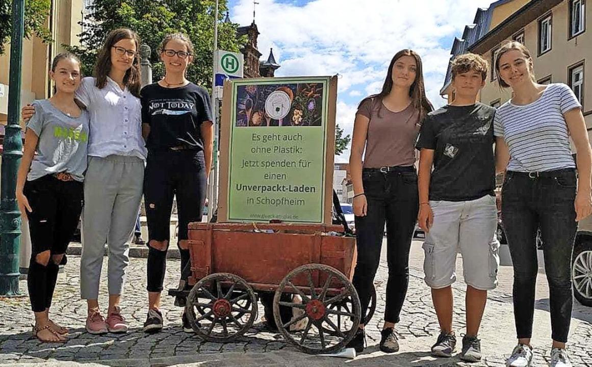Franka Popp, Svenja Schwald, Sofia Rie...llen einen Unverpackt-Laden eröffnen.   | Foto: privat