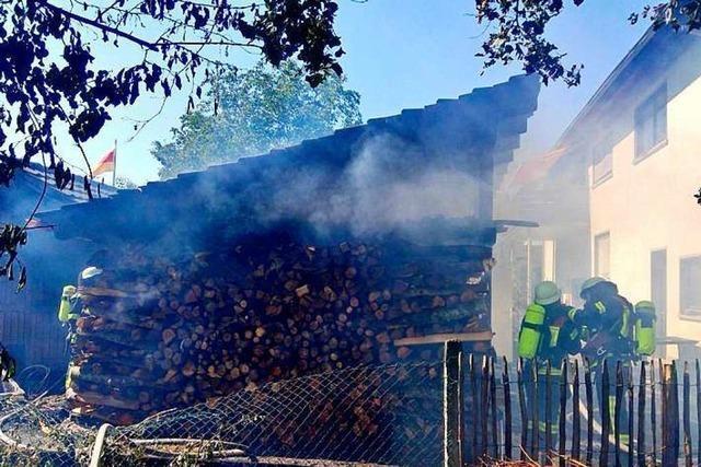 Heißes Wochenende für die Offenburger Feuerwehr