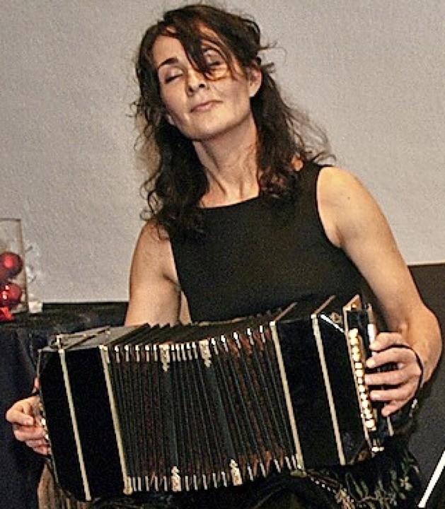 Bandoneon-Lehrerin Almut Wellmann  | Foto: Friederike Zimmermann