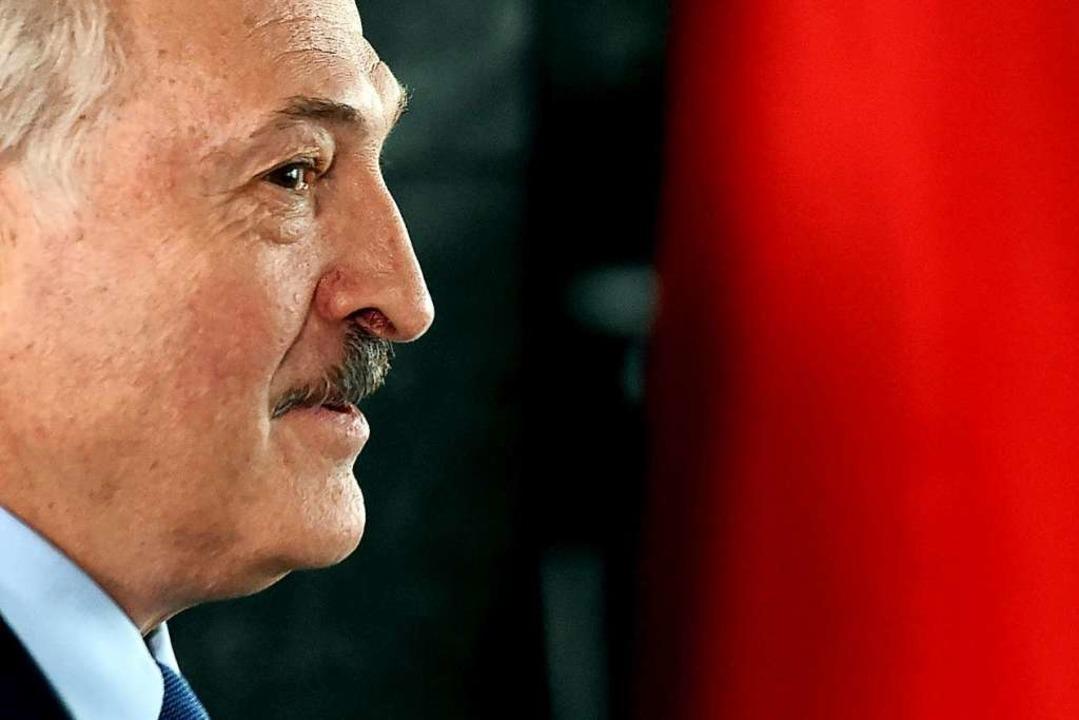 Alexander Lukaschenko    Foto: SERGEI GAPON (AFP)