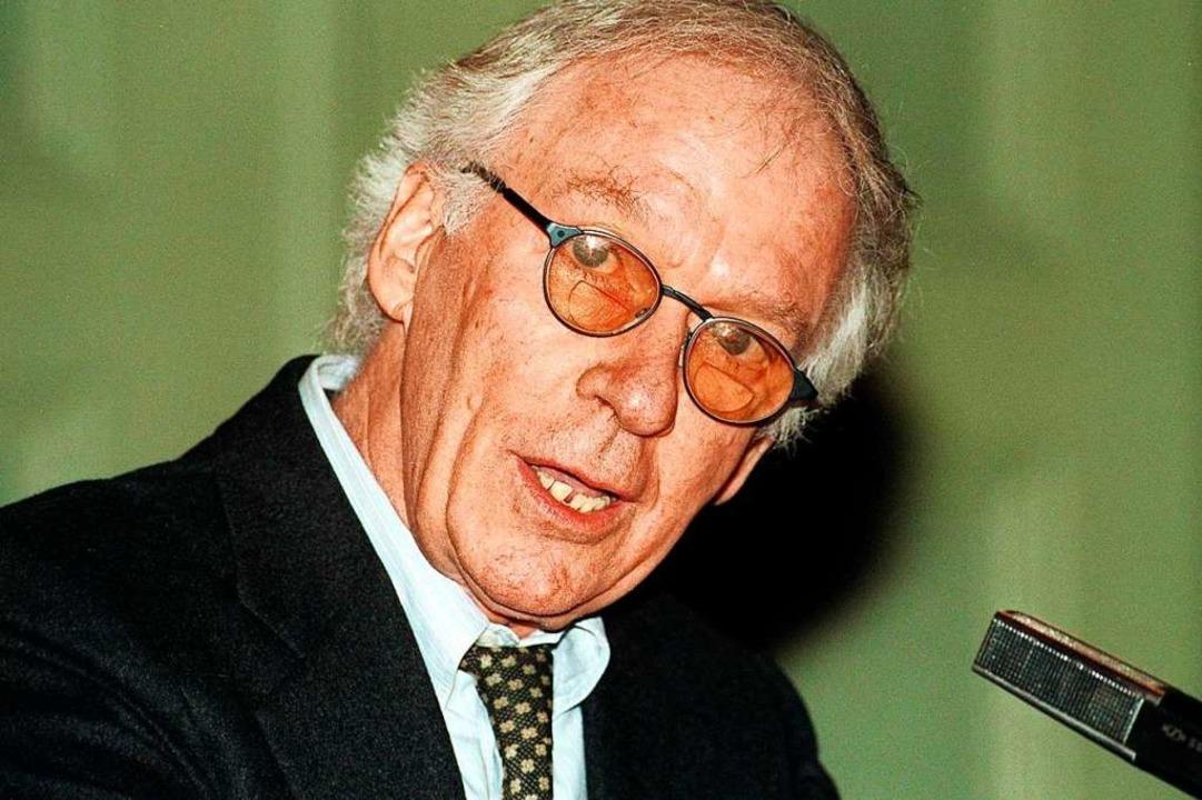 Werner Düggelin (Archivbild vom 12. Ja...um Hotspot der damaligen Theaterszene.    Foto: Michael_Kupferschmidt
