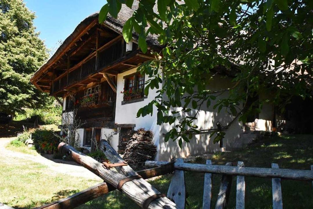 Der Schneiderhof in Steinen-Kirchhause... über die Grenzen der Regioin bekannt.    Foto: Maja Tolsdorf