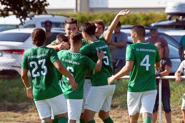 FC Bräunlingen bringt den FC 08 Villingen mächtig ins Schwitzen