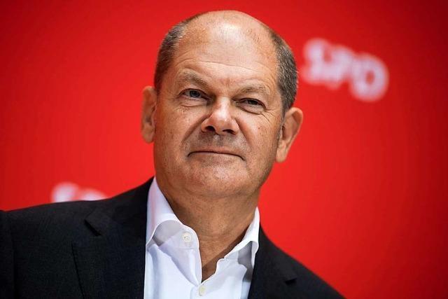 SPD macht Vizekanzler Olaf Scholz zum Kanzlerkandidaten