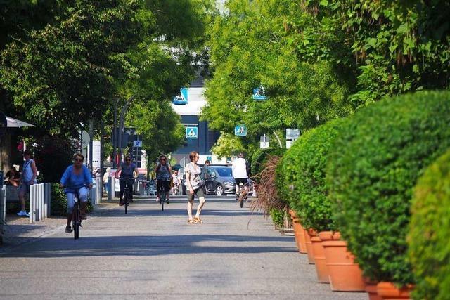 Die Fußgängerzone will noch gelernt sein