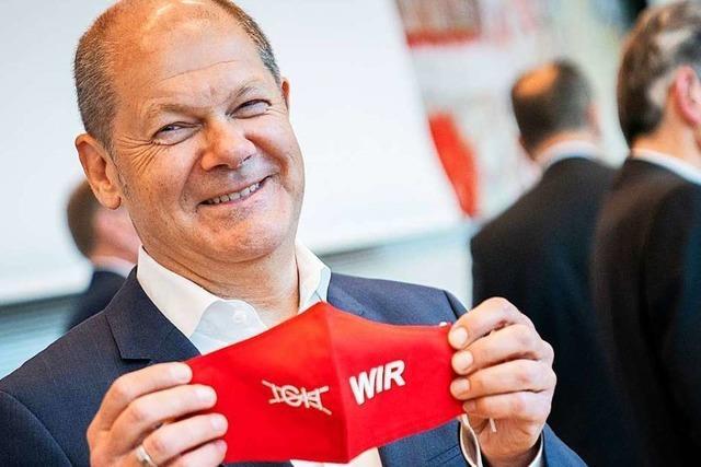 Mit dem Kanzlerkandidaten Olaf Scholz geht die SPD ein Risiko ein