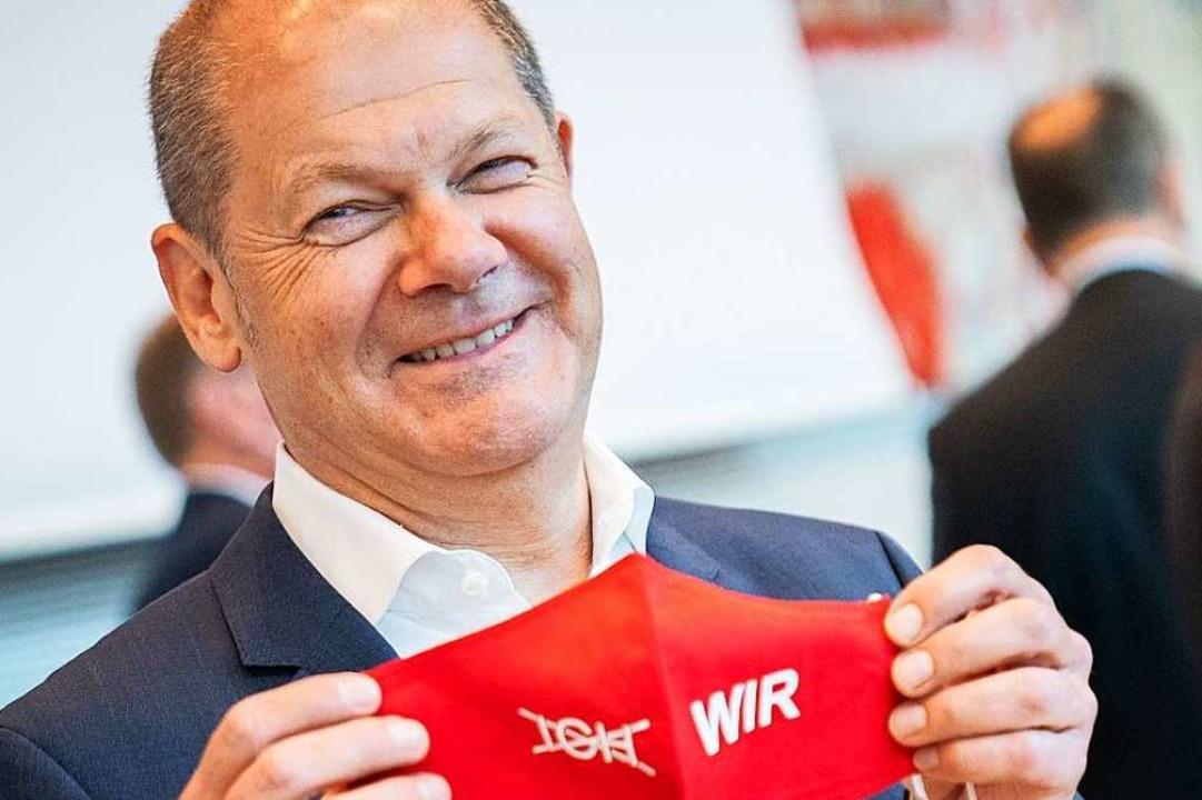 Vizekanzler und Kanzlerkandidat: Olaf Scholz.    Foto: Kay Nietfeld (dpa)