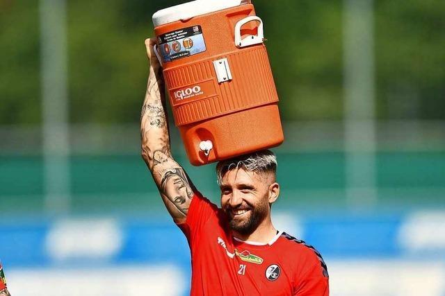 Fotos: Der SC Freiburg startet bei Sommerhitze in die Saisonvorbereitung