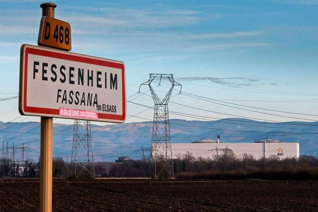 Auf dem Gelände des abgeschalteten Akw...eiterverwertung eingeschmolzen werden.  | Foto: SEBASTIEN BOZON (AFP)
