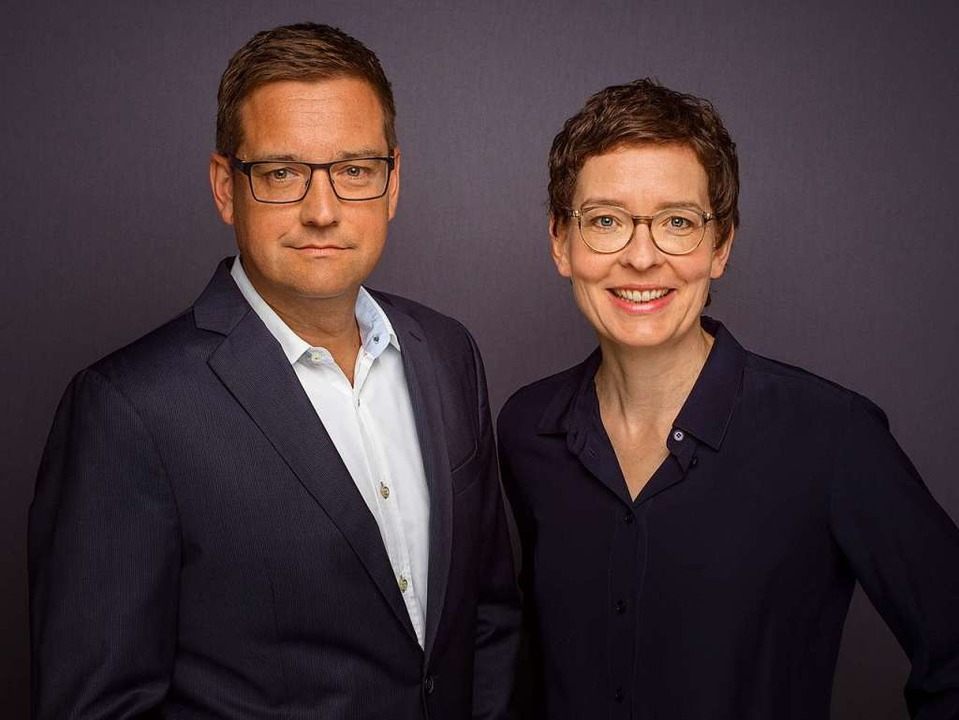 Birte Hackenjos und Harald Wagner  | Foto: Markus Puettmann