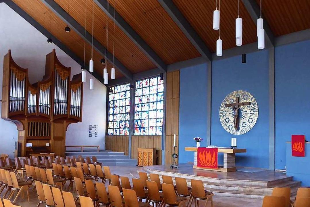 In der evangelischen Kirche in Hinterzarten darf wieder gesungen werden.  | Foto: Peter Stellmach