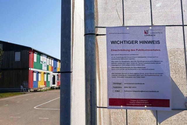 Nach einem Streit muss die Polizei in die Unterkunft Efringen-Kirchen ausrücken