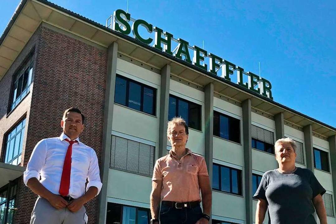 Die Firma Schaeffler in Lahr  | Foto: Büro Fechner