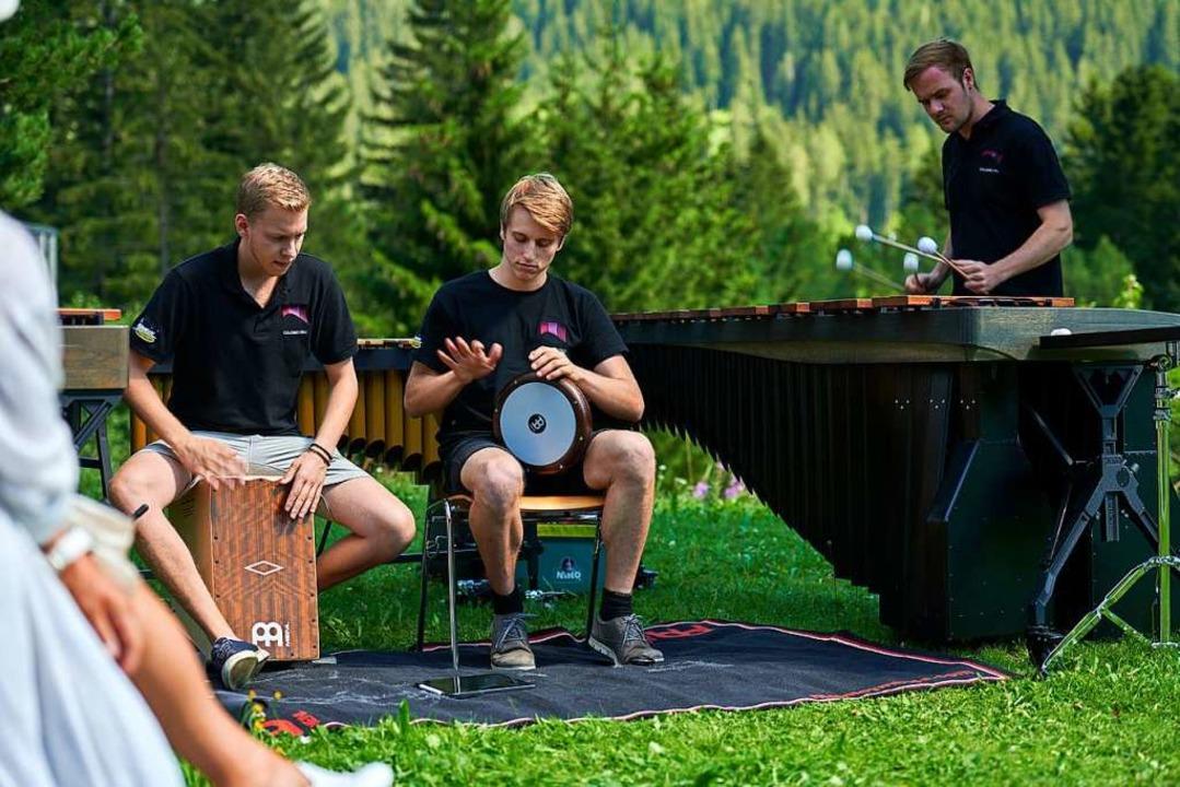 Das junge Colores Trio beim Davos Festival   | Foto: YANNICK ANDREA