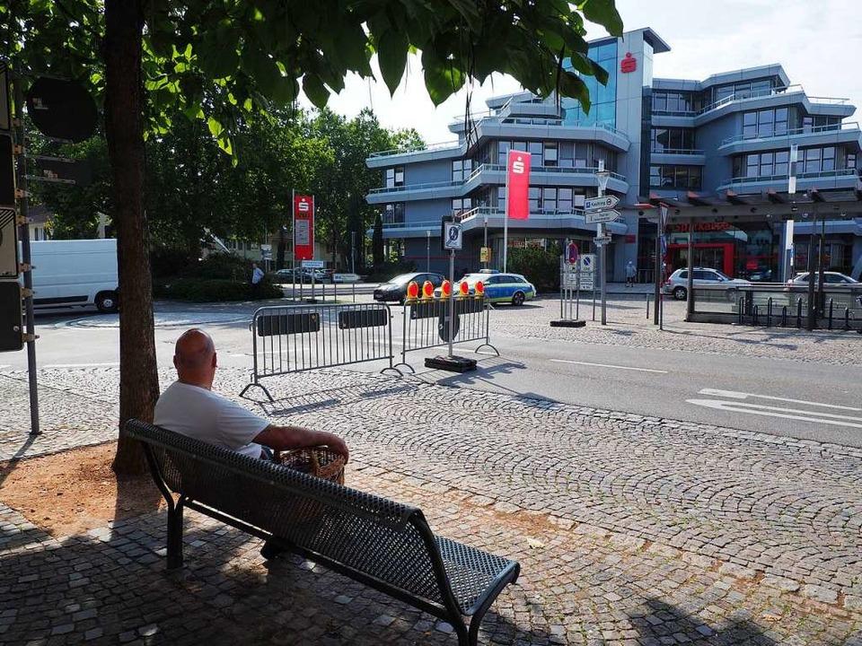 Ungewohntes Bild: Seit Montag hat Weil eine Fußgängerzone.    Foto: Herbert Frey