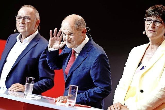 SPD-Spitze setzt auf Scholz