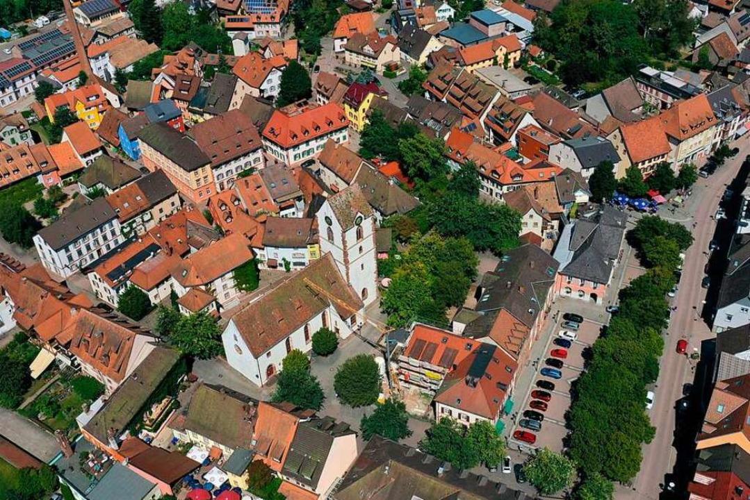 Schopfheim genießt seit 1250 Stadtrech... die älteste Stadt im Markgräflerland.  | Foto: Martin Klabund