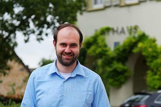 Schallstadts neuer Bürgermeister: