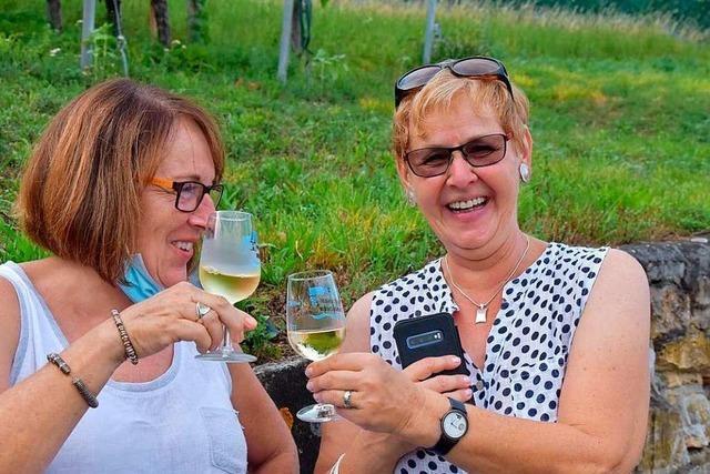 BZ-Hautnah in den Reben der Weinbau IG Herten