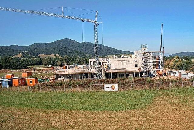 Rohbau des neuen Testo-Werks in Kirchzarten ist fertiggestellt